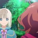 """Кадр из аниме """"Дама и принц"""""""