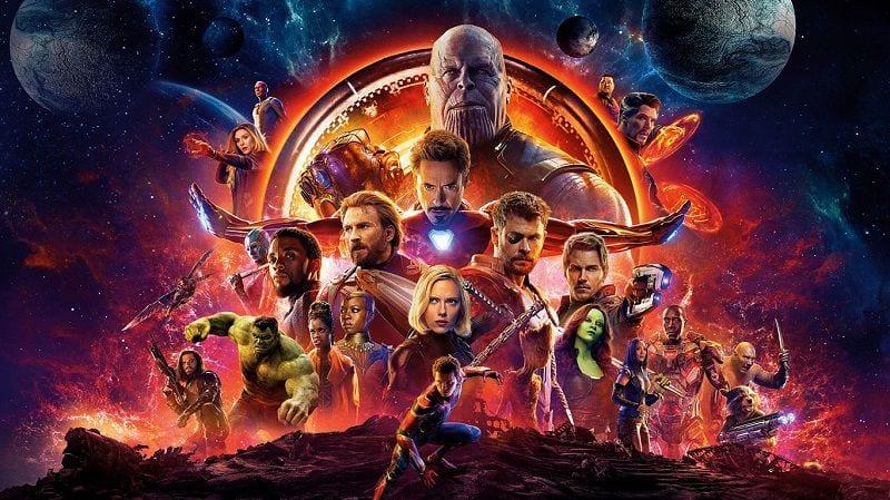 """Постер фильма """"Мстители: Война бесконечности"""""""